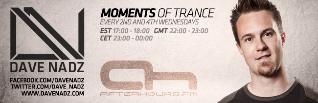 Dave Nadz - Moments Of Trance 120