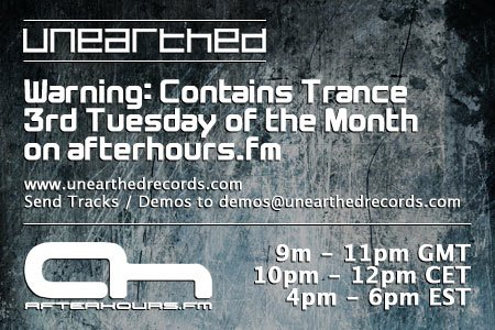 Unearthed Records presents Warning Contains Trance 034